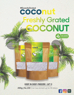 COCOnut introduces freshly grated coconut to the market - The Morning - Sri  Lanka News