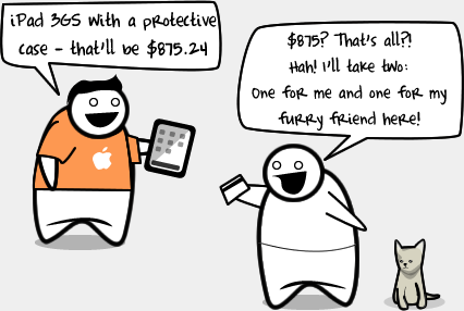 How I feel about buying apps