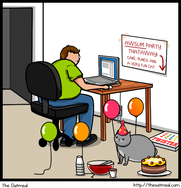 Aba Related Cartoon Cat Vs Internet The Behavior Analyst