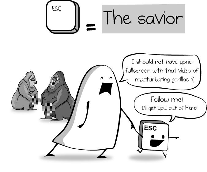 Esc = Savior