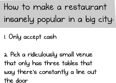 How to make your restaurant insanely popular