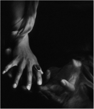 """""""Reaching,"""" © 2013 Ruth Naomi Floyd Images. Used with permission."""
