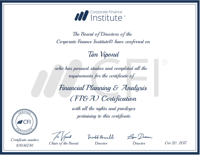 Fp A Certification The Leading Accreditation For Fp A