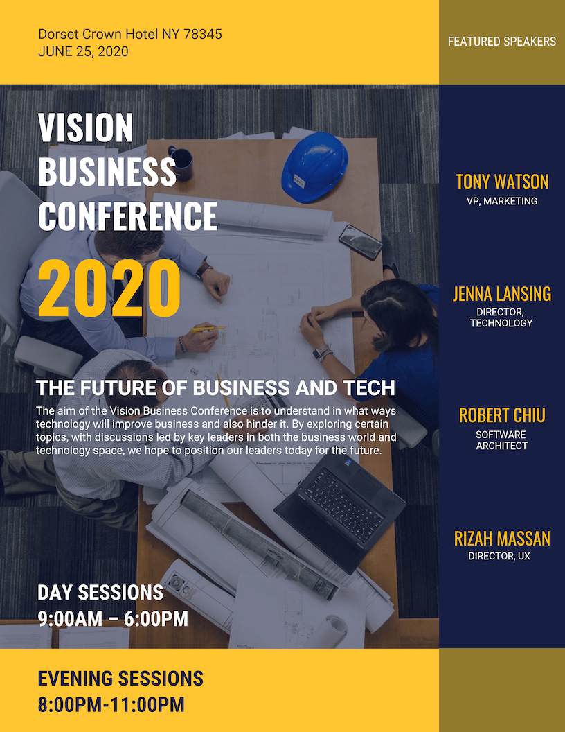 Business Event Poster