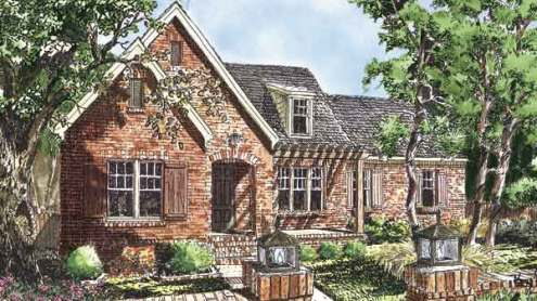 Southern Living House Plans   English Cottage House Plans Sl 1660