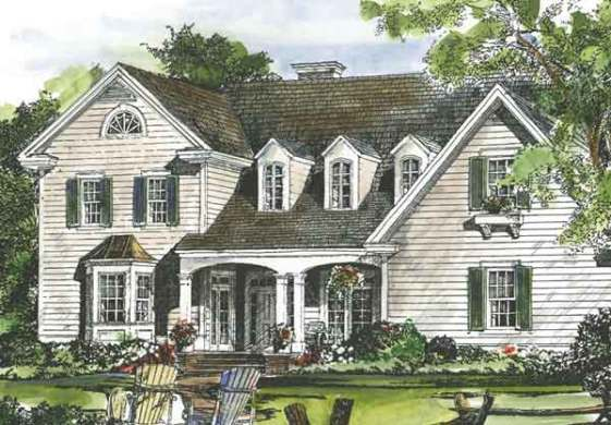 Country House Plans   Southern Living House Plans Sl 948