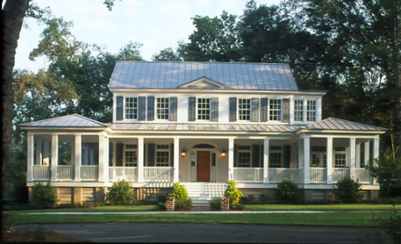 Wrap around Porches House Plans   Southern Living House Plans 1825newcarolinafcp