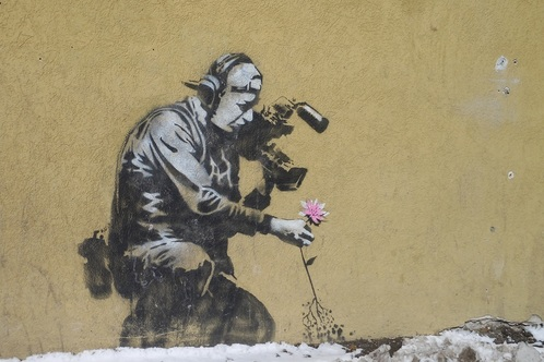 Banksy Art in Utah!