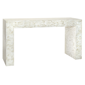 Aureole Console Table Desk - Farrago - Treniq