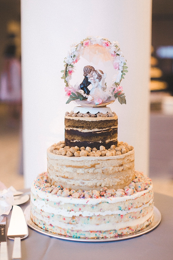 Quirky Elegant Wedding With Momofuku Cake Tidewater And
