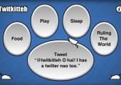 katze, iphone, twitter
