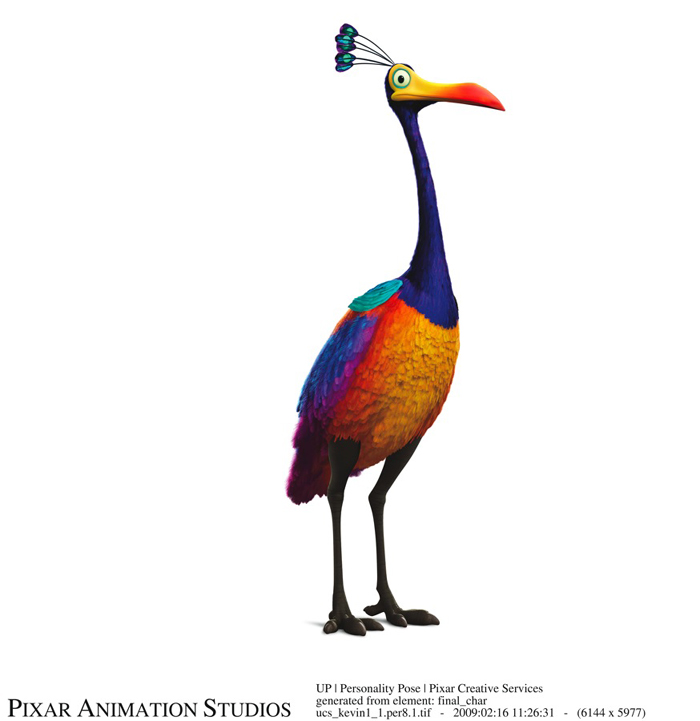 The bird from Pixar's Up
