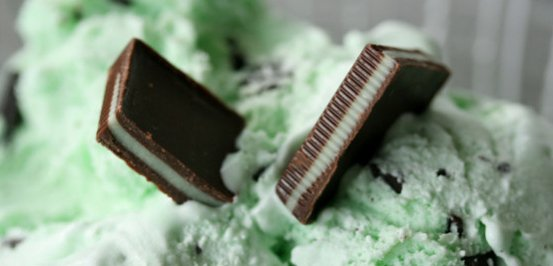 Minty Chocolate Chill Protein Shake