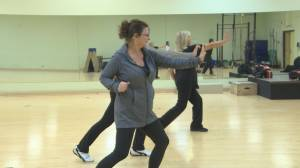 Self defence class in Regina aims to fight violence against women (01:30)