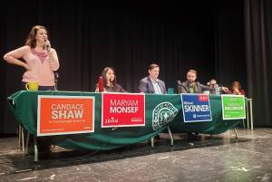 Peterborough-Kawartha candidates debate at Peterborough secondary school