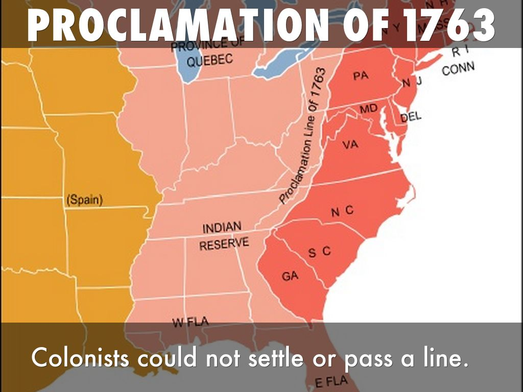 Road To American Revolution Timeline