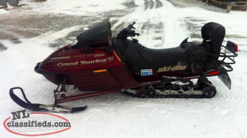 2000 Ski Doo Grand Touring Se 580