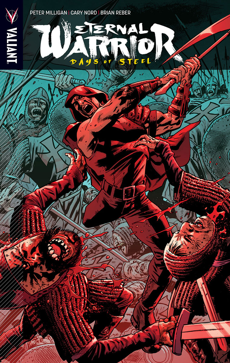 Eternal Warrior: Days of Steel Vol. 1 TPB, cover by Bryan Hitch