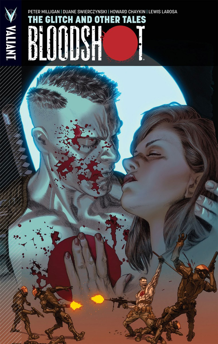 Bloodshot Vol. 6 TPB, cover by Lewis LaRosa