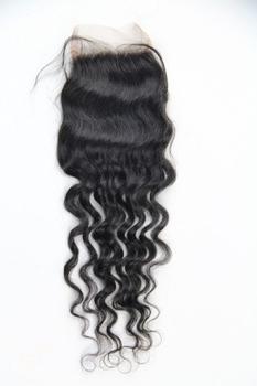 Peruvian deep Curly Closure