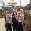 West pictures Megan Brankamp, Brooke Wesley & Megan Kelley at the World Series in Myrtle Beach