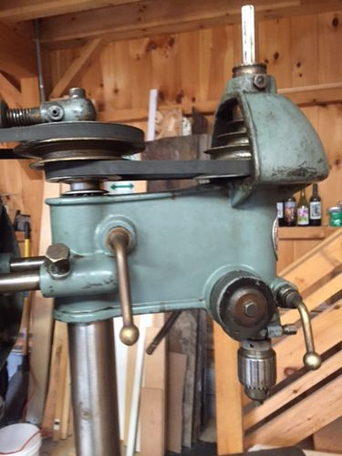 1939 Walker Turner Driver Line Drill Press Series 700 By