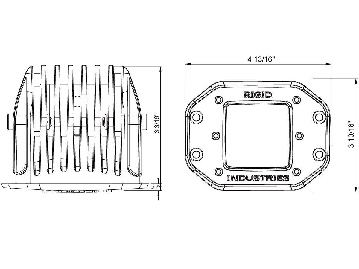 Rigid Industries Led Light Bar Wiring Harness