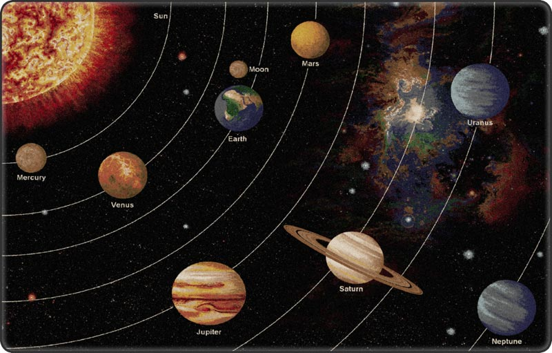 All Solar System Orbit Carpet By Flagship Carpets Options