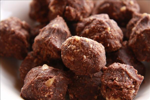 No Bake Chocolate Drops