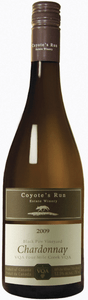 Coyote's Run Black Paw Vineyard Chardonnay 2009, VQA Four Mile Creek, Niagara Peninsula Bottle