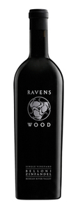 Ravenswood Single Vineyard Belloni Zinfandel 2008, Russian River Valley Bottle