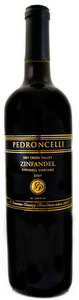 Pedroncelli Bushnell Vineyard Zinfandel 2009, Dry Creek Valley, Sonoma County Bottle