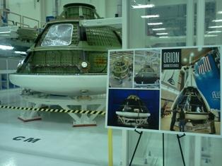 NASA's Orion Spacecraft Under Development at the Kennedy Space Center