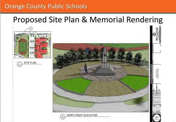 Avalon Relief Middle School plan. Image: Orange County Public Schools.