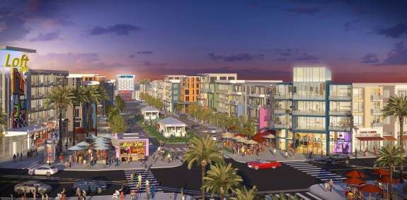 Daytona One is one of Volusia County's largest retail development projects. Photo: One Daytona.