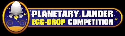 Planetary Lander Egg Drop Competition Logo