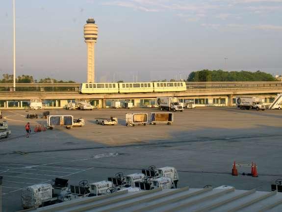 Orlando International Airport. Photo: Matthew Peddie, WMFE