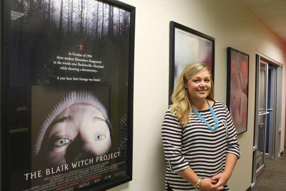 Sheena Fowler, Orlando Film Commission. Photo: Matthew Peddie, WMFE
