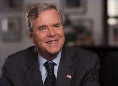 Former Florida Governor Jeb Bush. Photo: Right to rise PAC