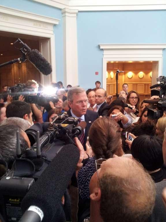 Jeb Bush. Photo: Matthew Peddie / WMFE