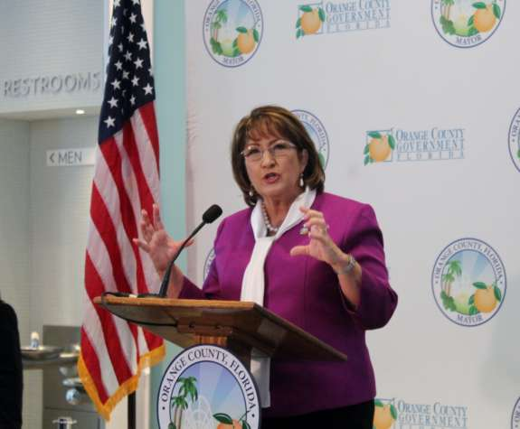 Orange County Mayor Teresa Jacobs File photo, WMFE.