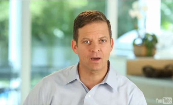 Carlos Lopez-Cantera in a still from a video on his senate campaign website