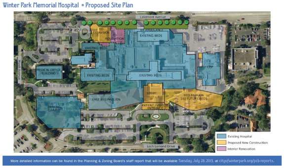 Why Winter Park Memorial Hospital Plans A 90m Expansion
