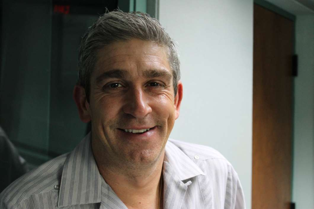 Richard Blanco. Photo: Matthew Peddie, WMFE