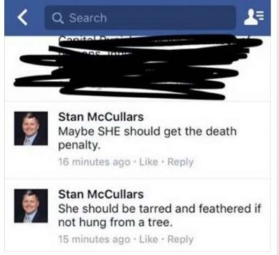 Stan McCullars, an employee for the Seminole County Clerk of Courts, has since apologized for his Facebook comment. Photo: Facebook.