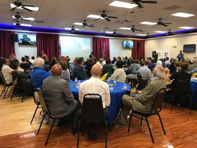 Iftar in Longwood teaches community and religious leaders about the faith. Photo: Danielle Prieur