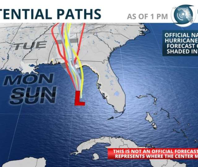 Alberto Is Forecast To Make Landfall Between Panama City And Destin Florida Early
