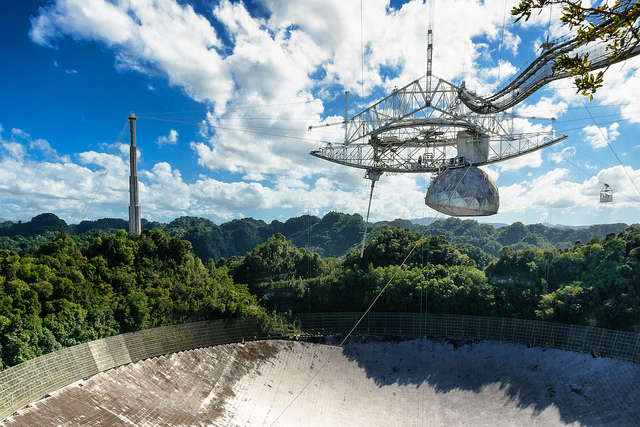 Arecibo Observatory is just one of the projects that will benefit from the new grant. Photo: Flickr Creative Commons
