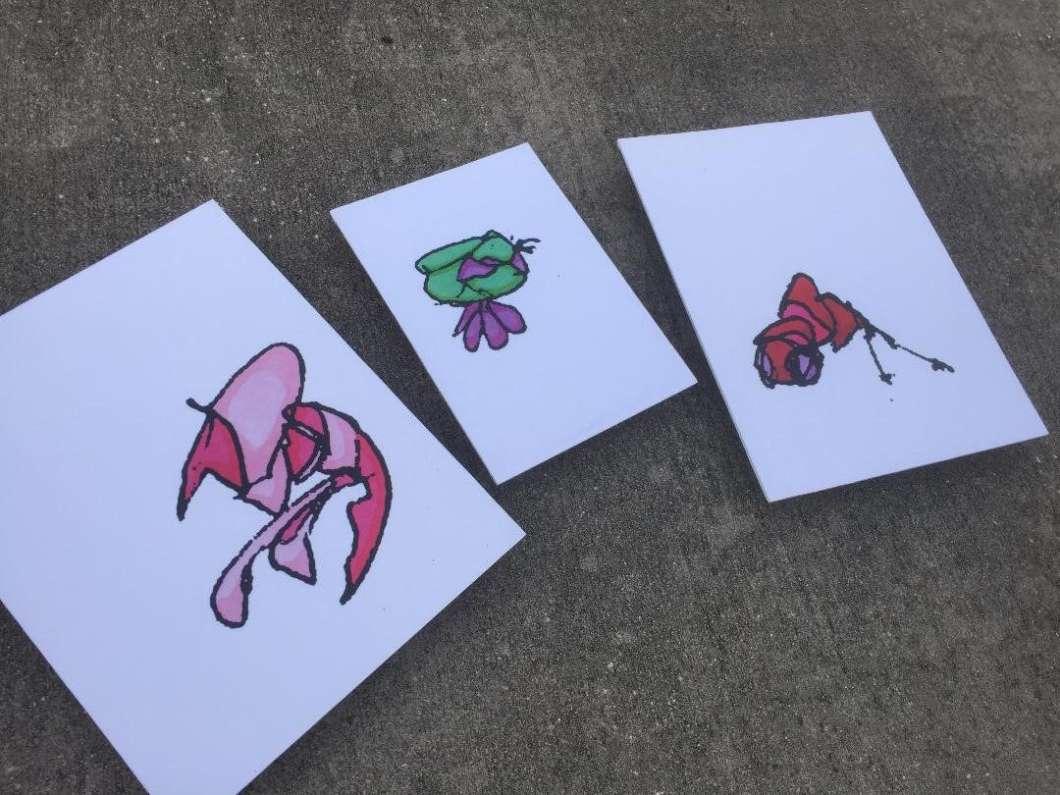 "A sample of Doug Rhodehamel's playful ""Plankton"" (Photo courtesy of Doug Rhodehamel)"