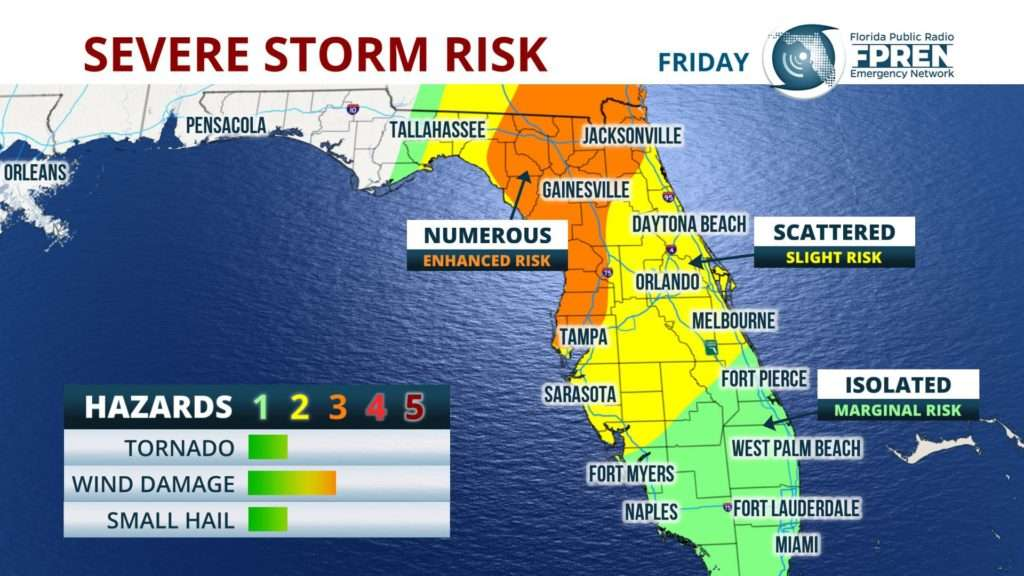 Philadelphia Weather: Scattered Severe Storms Possible For Delaware Valley Tonight